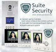 GT Series Multi-Tenant Color Video Entry Security System