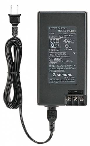 18V DC POWER SUPPLY, 2A UL